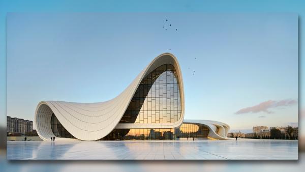 Centro Heydar Aliyev - Arquitetura Contemporânea