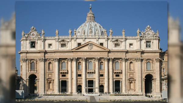 Basílica de São Pedro - Arquitetura Renascentista