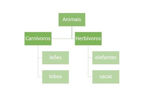 Mapa conceitual - hierarquia