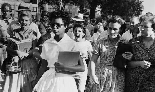 Elizabeth Eckford - Racismo