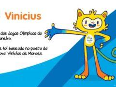 Vinicius - Mascote Olimpíadas Rio 2016