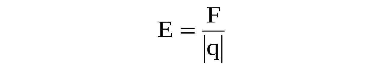 força campo elétrico