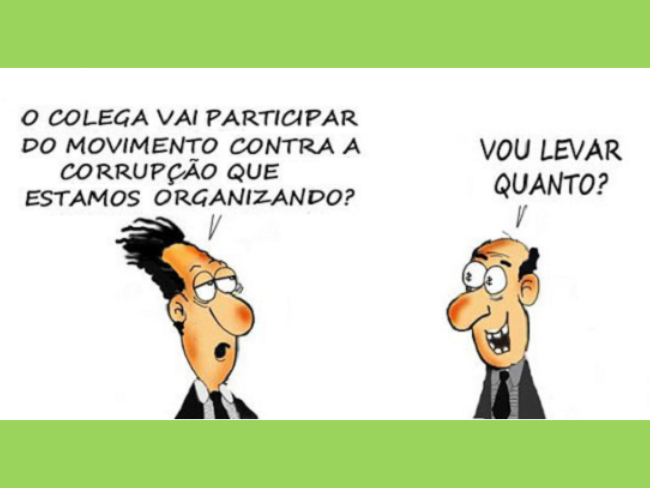 Charge jeitinho brasileiro