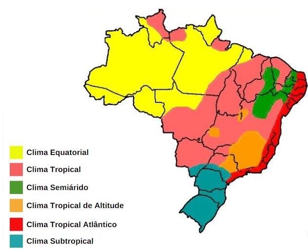 Climas Brasil