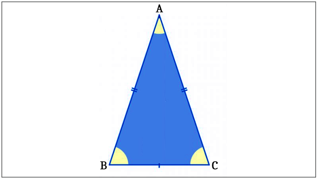 Triângulo - Isósceles