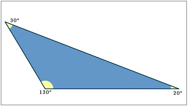 Triângulo - Obtusângulo
