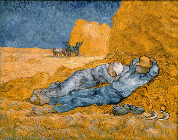 A Sesta, de Van Gogh