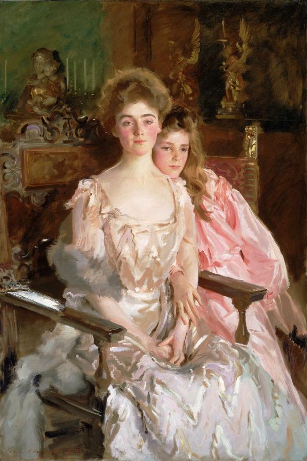 Sra. Fiske Warren e sua filha Rachel