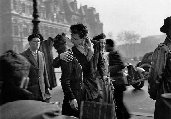 O beijo no Hotel de Ville
