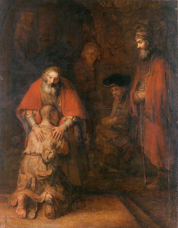 O retorno Filho Pródigo, Rembrandt