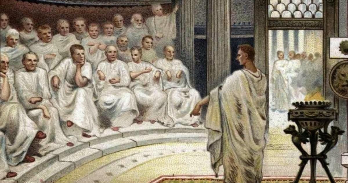 senadores roma
