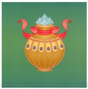vaso de tesouros