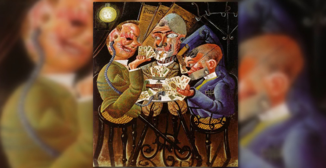 The Skat Players - Otto Dix