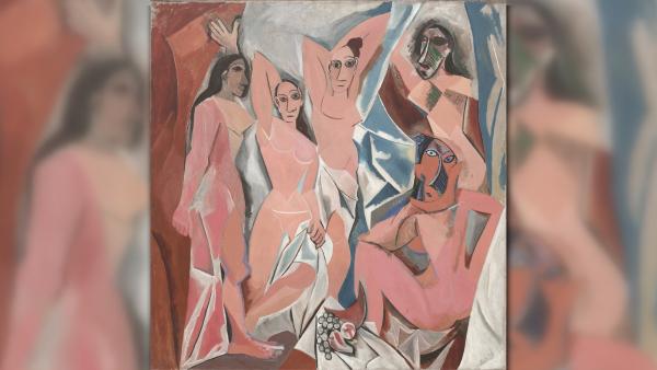les demoiselles d avignon - cubismo